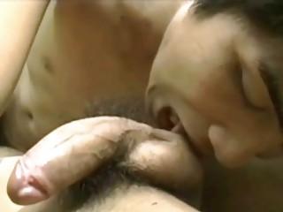 naughty eastern  gay fucker sucks his lovers huge