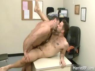 tattooed hunk obtains deep butt bang gay porn