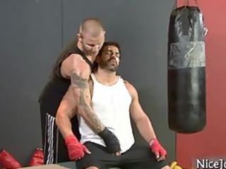 great muscled guy takes dick sucked part6