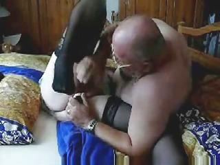 granny chick still likes porn !! fresh