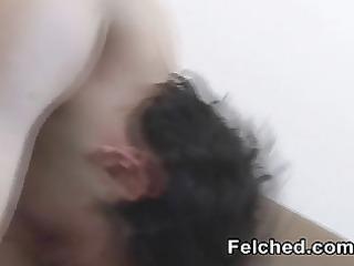 gay felching cum