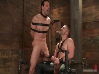 james dirk inside extremely extreme gay bondage
