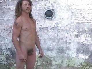 gay stud takes mad openair