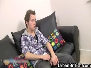teenage callum jackson jerking off his lovely gays