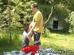 outdoor anal anal tasting fellatio twink gay cum