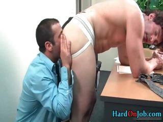 gay bear takes his uneasy  libido sucked part3