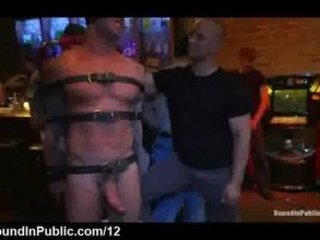 large penis bound gay libido sucked and vibed
