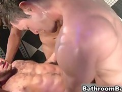 hot hot gay group sex into outside bath part1