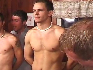 awesome bunch  gay porn celebration with naughty