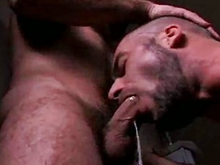 gay dick sucking followed by a facial explosion