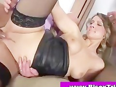 bisexual mmf triple licking