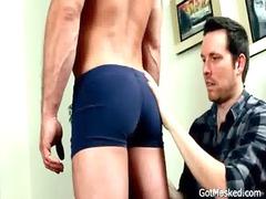 surprising stud gets his pretty libido sucked gay