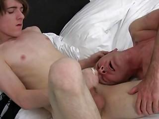 randy cougar gay fucker acquires his mug covered