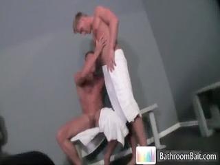 gavin waters into awesome tub gang-banging gay