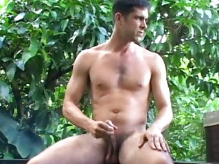 enormously awesome and perky gay stud pisses and