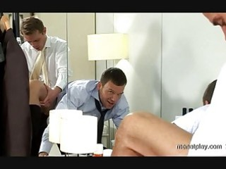 naughty gay hunk acquiring uneasy  cock up his ass