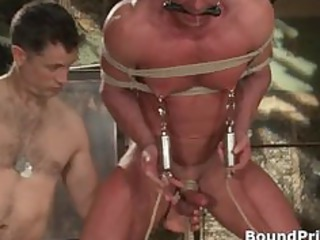 buffed dude blindfolded and bound gay part6