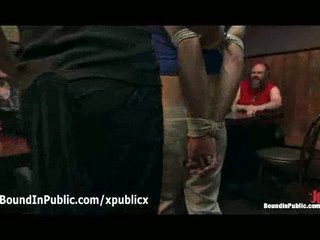 bound and gagged gay dick sucking inside gay disco