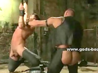 gay sexy master with stiff figure  bdsm