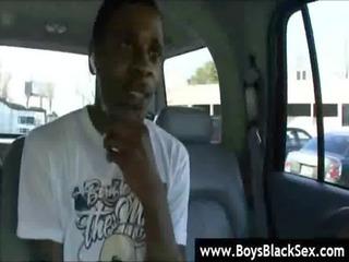 dark gay boys deep anal drill - blacksonboys 09
