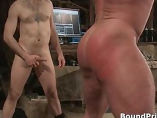 muscled male strung and hung gay bdsm part5