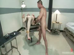 nick acquires tools inserted inside his gay gay