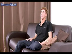 horny young stud fresh interviews on the casting